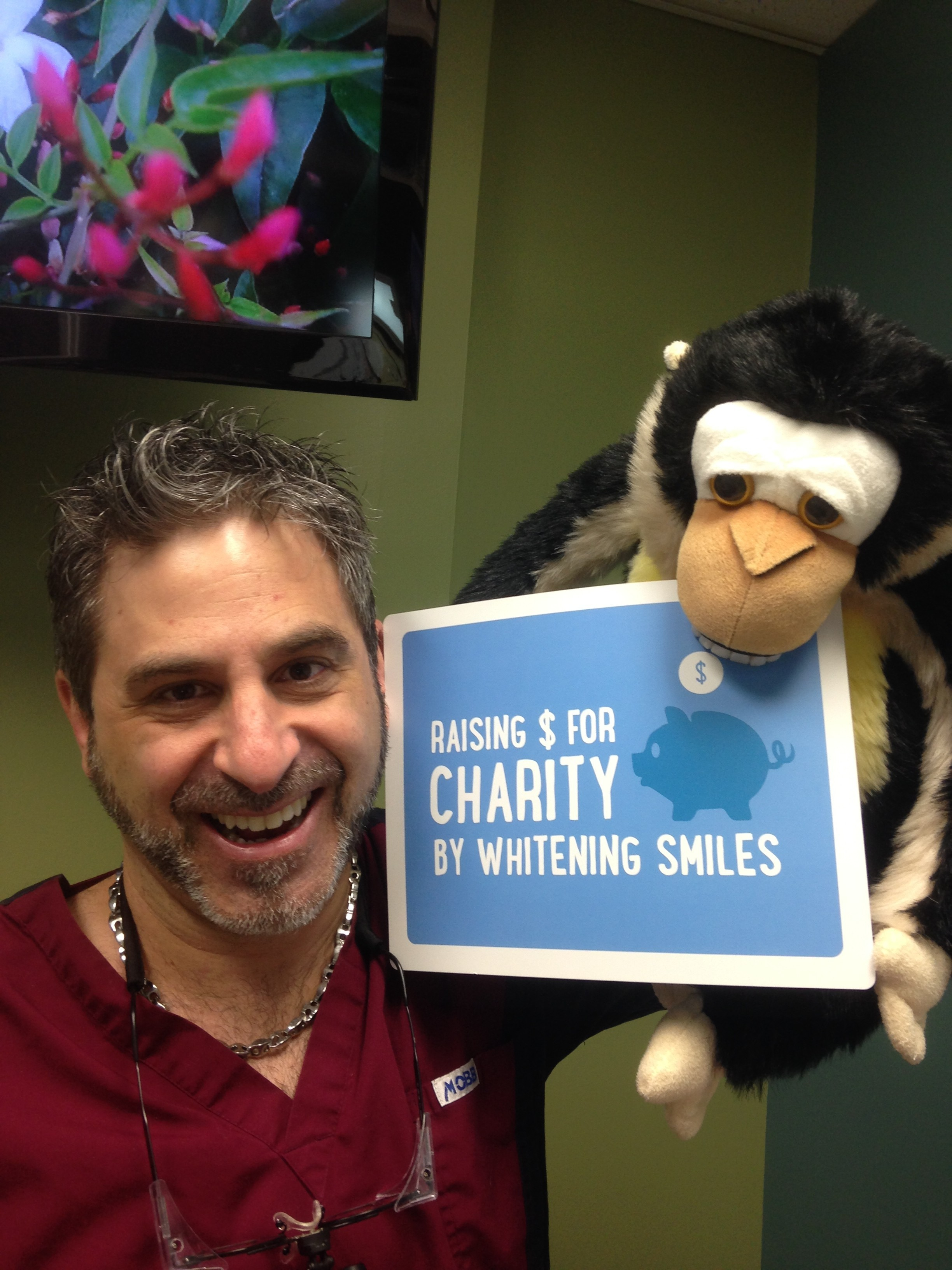 Dr. Zaichick excited about the annual Smiles for Life charity campaign