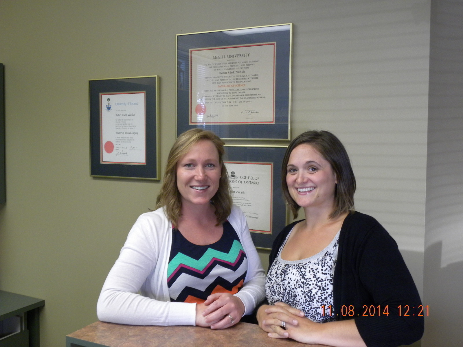 Amy and Amanda (Front Desk Reception and Administration)